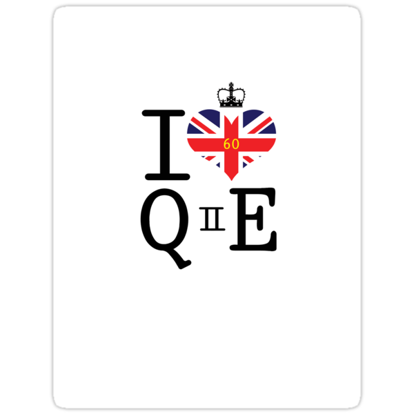 I heart Queen Elizabeth  by Casper