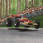 Graham Hill by Chris-Cox