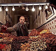 Marrakech sweets by Vincent Riedweg