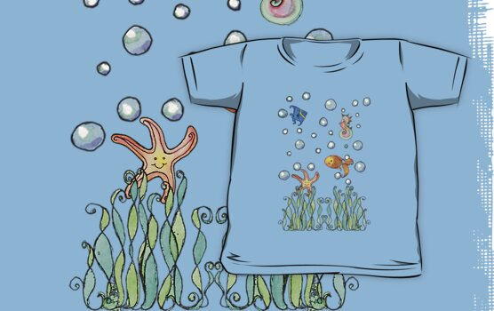 Sea Tee by Amy-Elyse Neer