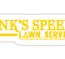 Link's Speedy Lawn Services Sticker