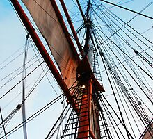 The Star of India Rigging #2 by Jennifer Hulbert-Hortman