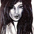 Amy Winehouse by Holly Daniels