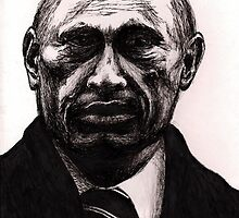 Vladimir Putin by Holly Daniels