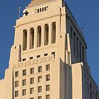 Los Angeles City Hall by Henrik Lehnerer