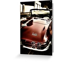 Oldtimer Stingray HDR Greeting Card