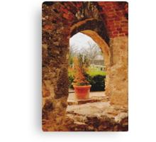 Archway in Digital Oil Canvas Print