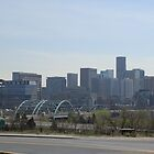 DENVER, COLORADO SKYLINE by Charlotte Daniels