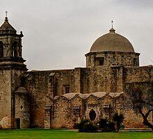 Mission San Jose in San Antonio, Texas by SJBroadmeadow