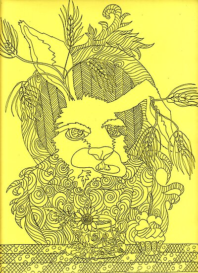 Truly Deeply Mad - The March Hare by MagsWilliamson