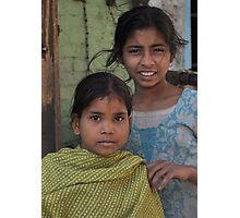 Sisters on the Street Photographic Print