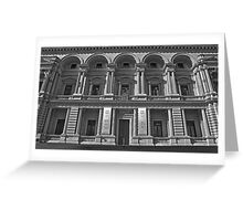 Old Treasury Building, Spring St Greeting Card