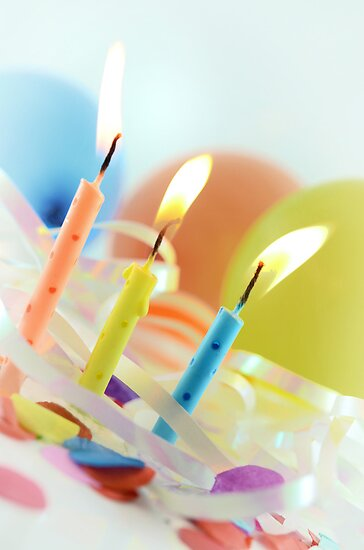 Birthday Candles by shuttersuze75