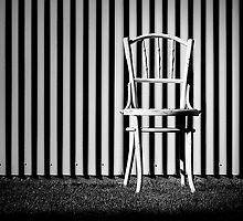 Chair Against an Outback Shed by shuttersuze75
