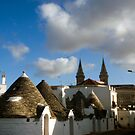 Trulli in Alberobello #1 by Rebecca Dru