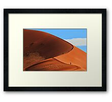 The Long Climb To the Top Framed Print