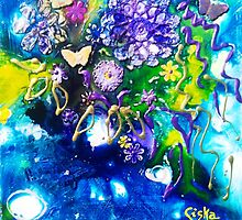 Abstract Butterfly II by Ciska