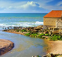 La Slack with Fort Mahon in Ambleteuse, France by 7horses