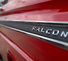 1965 Ford Falcon Name Plate by Brian Harig