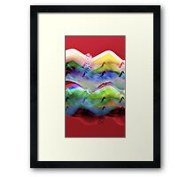 Ocean-Race Framed Print