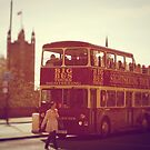 London Sightseeing Bus by James Taylor
