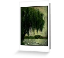My special weeping willow tree © Greeting Card