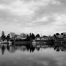 Cape Cod in black and white by Nella Khanis