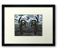 Ruled By An Iron Fist Framed Print