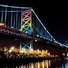 Benjamin Franklin Bridge by Eric Tsai