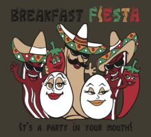 Breakfast Fiesta  by Ameda Nowlin