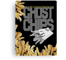 ghost chips Canvas Print