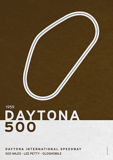 Legendary Races - 1959 Daytona 500 by Chungkong