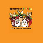Breakfast Fiesta 3 by Ameda Nowlin
