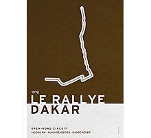 Legendary Races - 1978 Le rallye Dakar Photographic Print