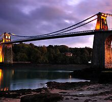 Menai Bridge by Rachel Slater