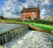 Papercourt Lock Cottage  -  HDR by Colin J Williams Photography