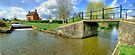 Papercourt Lock Panorama - HDR by Colin J Williams Photography