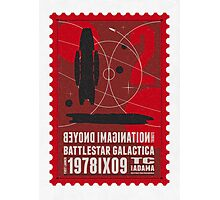 Starship 02 poststamp - Battlestar Galactica  Photographic Print