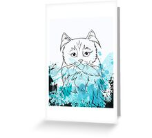 The Teal One Greeting Card