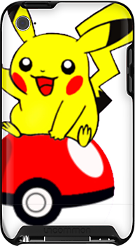 Pikachu playing with the pokeball by alexcool