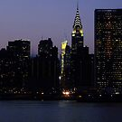 VIEW FROM LONG ISLAND CITY TO THE UNITED NATIONS by KENDALL EUTEMEY