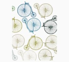 Antique Bicycle Array by sledgehammer