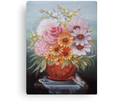 Copper vase Canvas Print