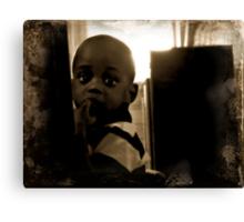 Little Man Canvas Print