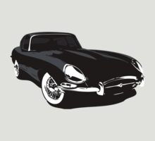 E-Type Jaguar by Lee Fone