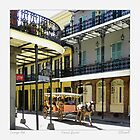 French Quarter Carraige Ride by Sandra Russell
