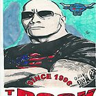 The Rock Boots To Asses Comic Book Artwork by chrisjh2210