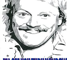 Keith Lemon Thru' Window Comic Book Artwork by chrisjh2210
