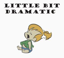 Little Bit Dramatic (Pebbles Flintstone) T-Shirt