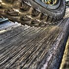 Underneath the Bike Tyre by Janko Dragovic